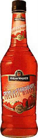Hiram Walker Liqueur Creme de Strawberry
